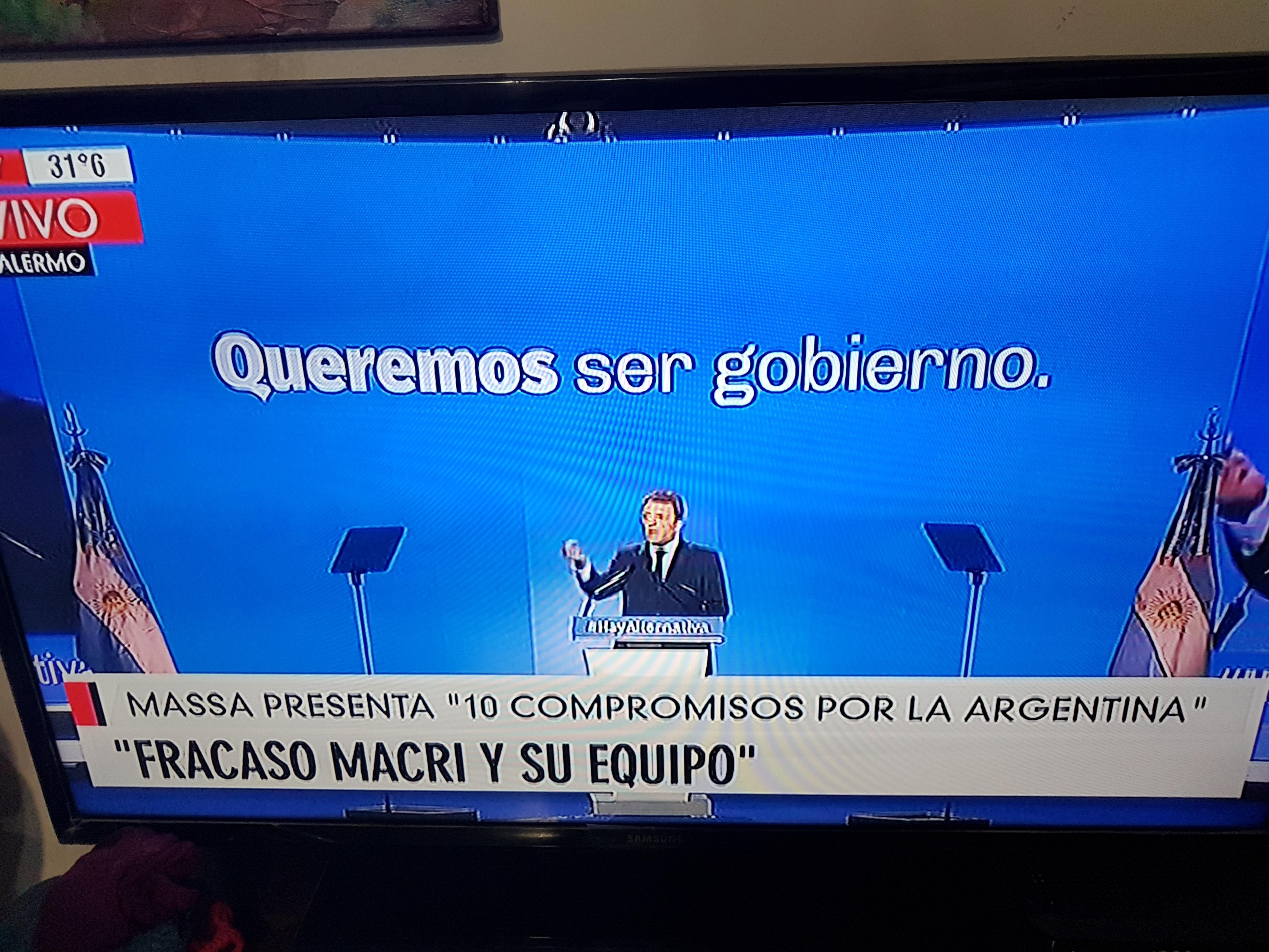 """EL """"PROGRAMA"""" PRESENTADO POR SERGIO MASSA"""