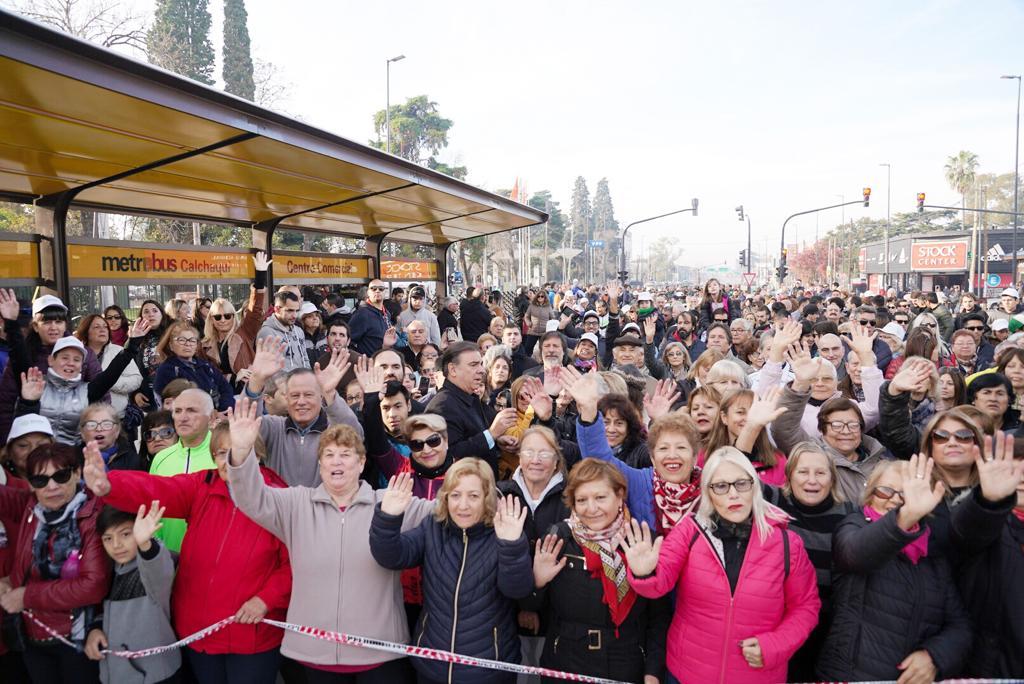QUILMES: El Intendente Martiniano Molina inauguró la obra del Metrobús